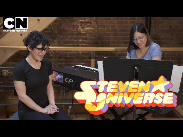 Steven Universe Rebecca Sugar Aivi Surasshu Live Session Medley
