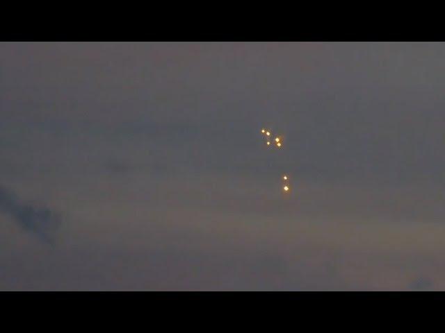 Multiple UFO views over Odessa Ukraine 10/3/2017