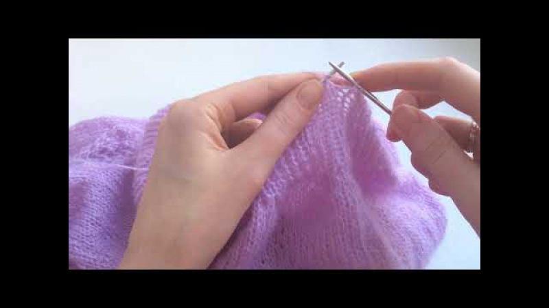 Эластичное закрытие петель резинки 1*1