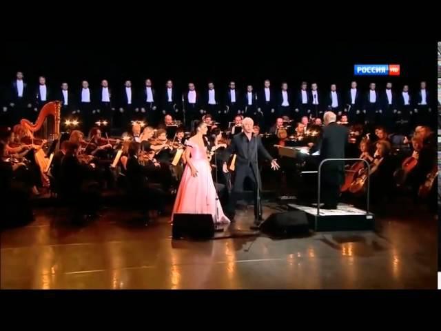 Kristina Mkhitaryan and Dmitri Hvorostovsky sing Rigoletto Duet