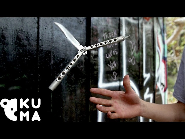 Incredible Butterfly Knife Tricks (Balisong)