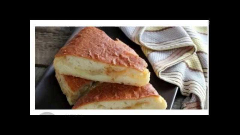 Постный пирог с картошкой! Вкусно и очень просто!