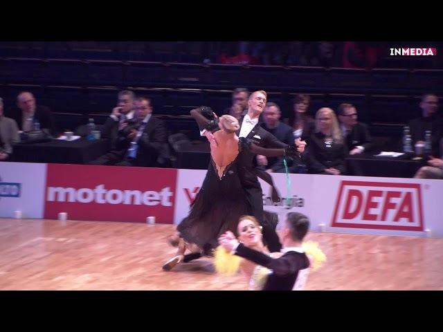 Dominykas Granskas - Helene Spilling   R3 Viennese Waltz   Finnish Open 2018