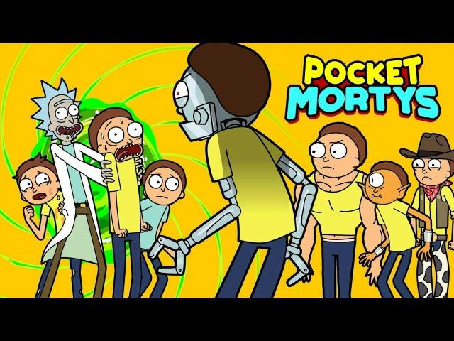 Покемоны на андроид2; Pocket mortys
