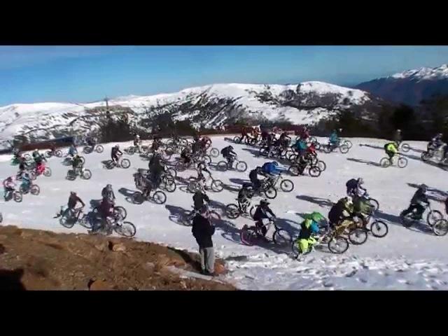 Snow Bike Contest