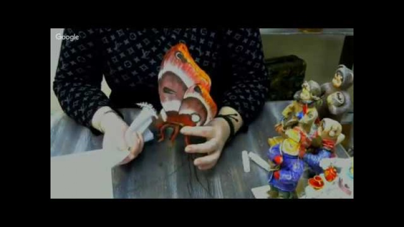 Васько Лена. ватные игрушки - бабочка 15 02 18