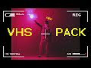 [FREE] 20 VHS / Film / Camera Overlay Pack ! (Retro 80s, Blue Screen, Super 8 Film, etc.)