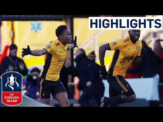 Newport 2-1 Leeds Official Highlights | Last Minute Winner in Cupset! | Emirates FA Cup 2017/18