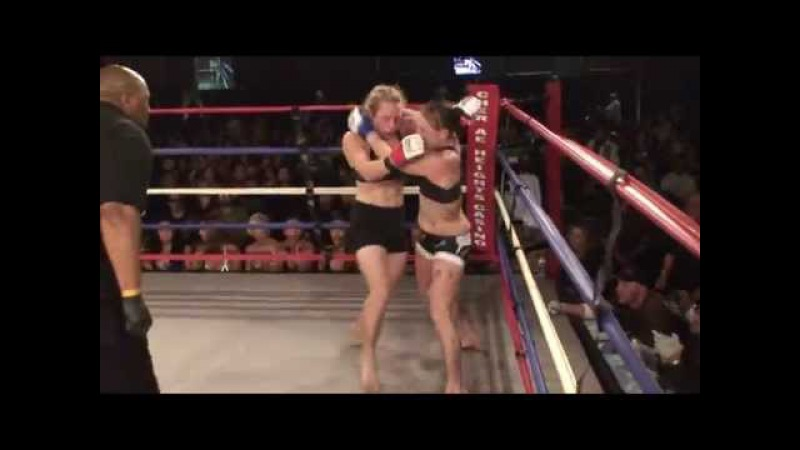 Exciting Female MMA Fight
