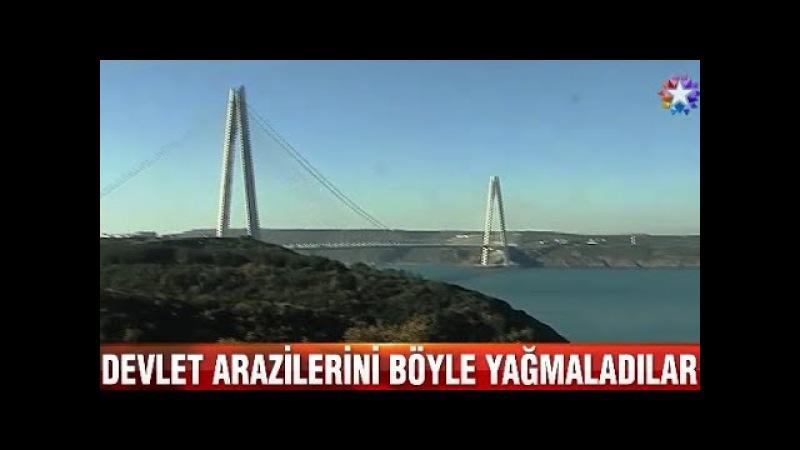 İstanbul Poyrazköydeki Devlet arazilerini böyle yağmaladılar