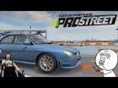Subaru Impreza WRX STI - НЕ ЕДЕТ Need for Speed: ProStreet на руле Fanatec CSL Elite