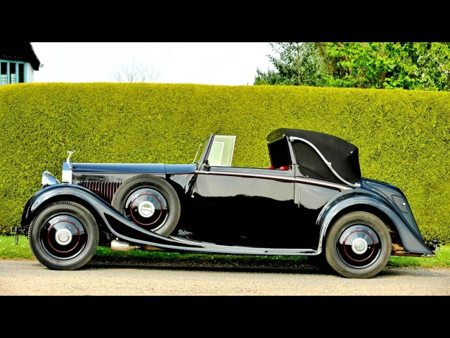 Rolls Royce 2025 HP Drophead Coupe by Mulliner '1934