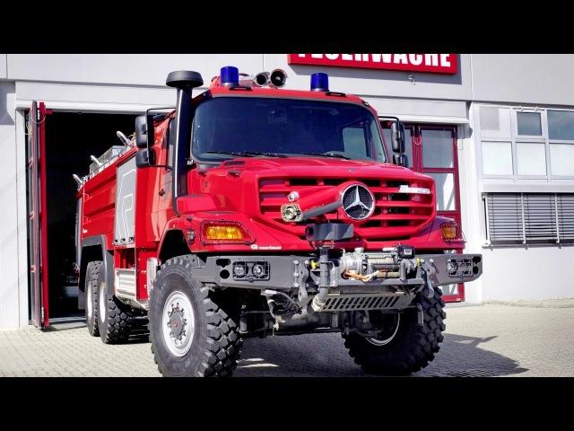 Mercedes Benz Zetros 2733 A Rosenbauer Buffalo FLF 6100750250 Bm 949 066 2011