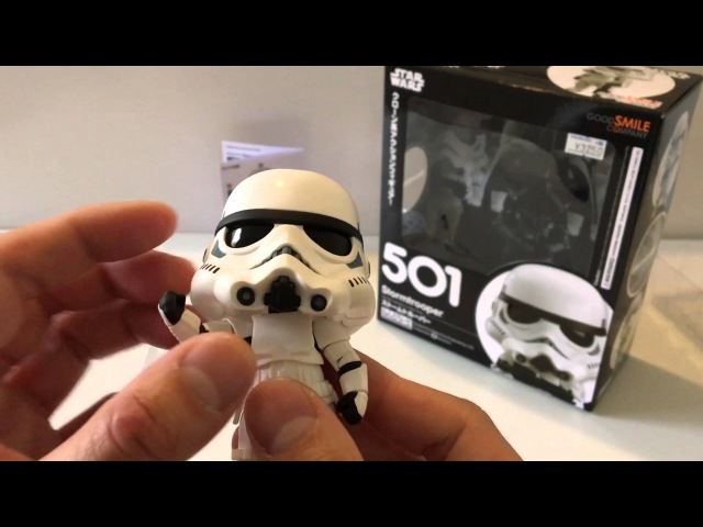 Nendoroid Star Wars StormTrooper Unboxing