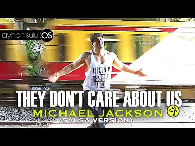 Zumba - Micheal Jackson - They don't care about us (Salsa) - Zumba dance workout for beginners