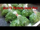 How To Blanch Freeze Preserve Green Peas Recipe In Hindi How To Store Green Peas For Long