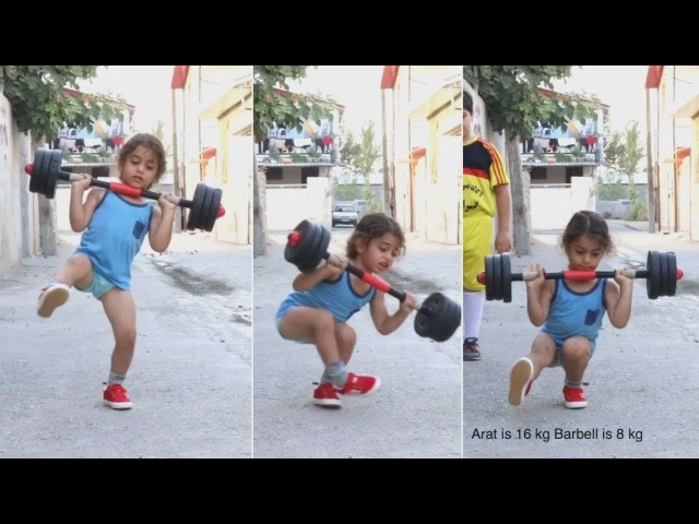 4 ขวบแย้วววนะ หนูน้อยมหัศจรรย์ Arat Hosseini แกร่งก