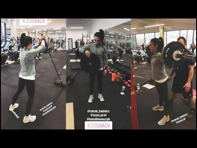Joanna Jedrzejczyk Workout 10 01 18