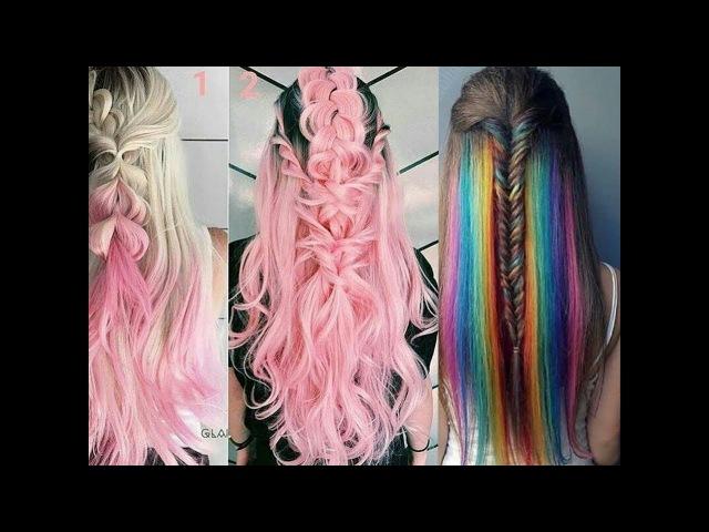 Топ 10 удивительный яркий окрашивание волос