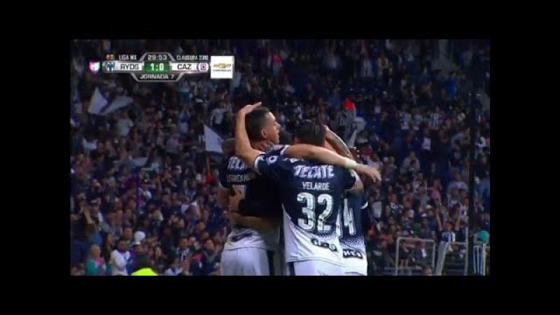 Mexico- Monterrey Vs Cruz Azul 2-2 Jornada 7 Clausura 2018 Liga MX