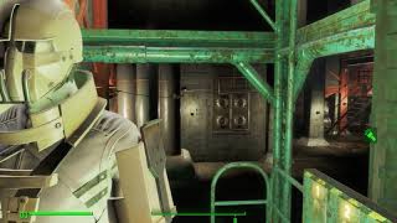 Fallout 4 Механиста цех конвейеров
