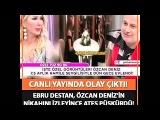 Seda Sayanın programında olay çıktı.Ebru Destan Ozcan Denizin dugun videosunu gorunce ateş puskurdu!