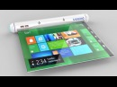 Samsung Flexible Roll Tablet New Concept ᴴᴰ