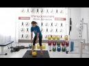 Упражнения для ног: приседы с гирей/ Ксения Дедюхина eghfytybz lkz yju: ghbctls c ubhtq/ rctybz ltl.[byf