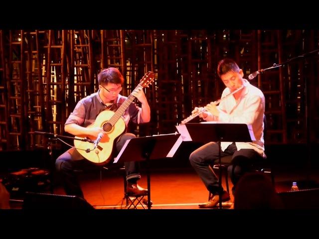 Libertango by Astor Piazzolla (flute guitar) - Rit Xu Kevin Loh