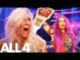 #SBMKV_Video Sasha Banks &amp Charlotte Flair WWE Women's Wrestling Documentary First Ever Women's Hell in a Cell