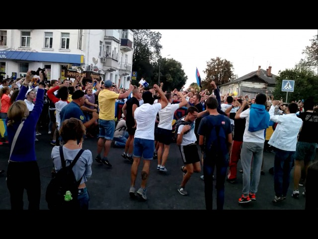 Ультрас Суми і Металлиста.День Незалежності Україн