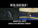 Metal Gear Solid 3: Snake Eater / The Boss CQC armlock analysis