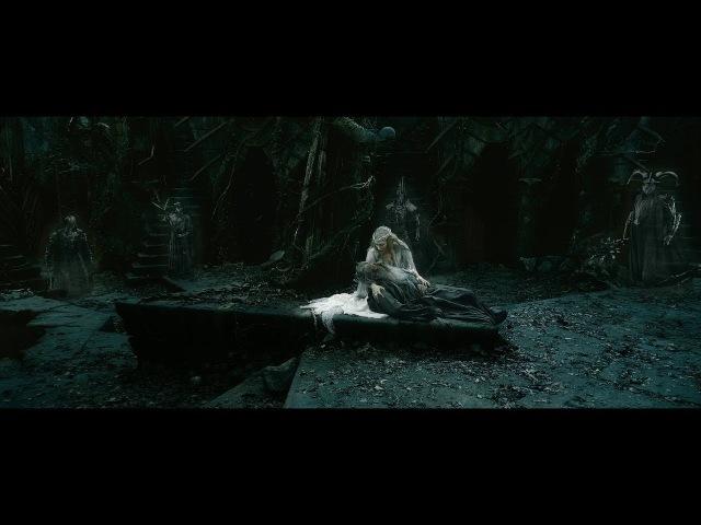 Галадриэль спасает Гэндальфа. Саруман и Элронд сражаются с назгулами. HD