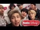 [171205] Radio Disney 방탄소년단 (BTS) 인터뷰 cuts    BTS Interview: MIC Drop Remix, Plans for 2018, etc