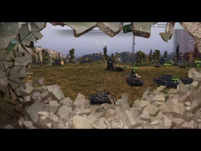 World of Tanks Ис 6 в бою хорошая машина