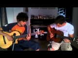 Misread Cover (Kings of Convenience) 2 guitars