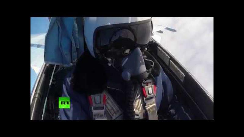 МиГ-29СМТ против Су-34: экипажи истребителей ВКС РФ отработали элементы воздушного боя