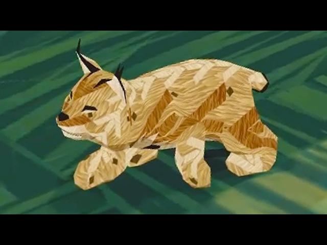 СИМУЛЯТОР ДИКОЙ КОШКИ 18 Кид стал маленьким котенком рысью виртуальный питомец ПУРУМЧАТА