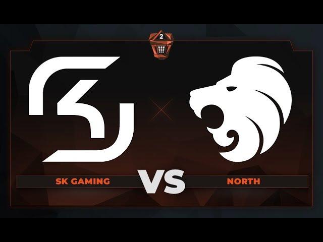 SK Gaming vs North Game 1 cs summit 2 Semifinals de cbble
