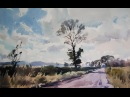 'Tall tree near Pensford' watercolour demonstration by Jem Bowden