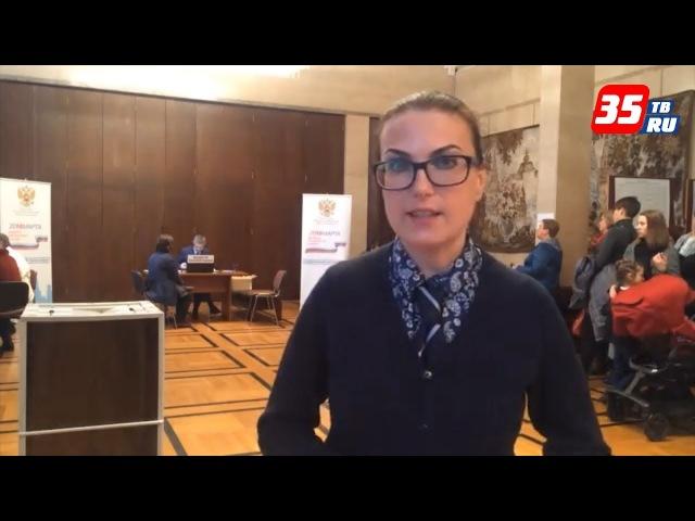 Журналист Екатерина Лане голосовала в Белграде (Сербия)