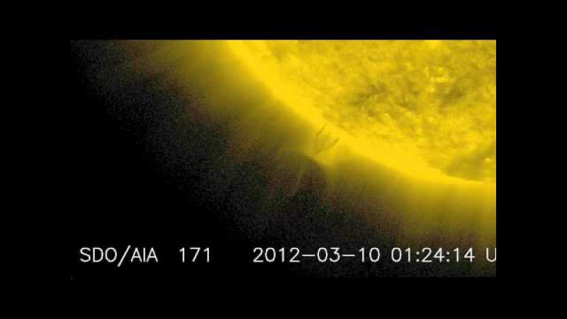 Влияния Нибиру на Солнце от 08.03.2012 до 12.03.2012