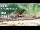 A WKND in SUNUNGA Ep. 4 - Epic Afternoon SHOREBREAK | Professional Skimboarding adventure in Brazil
