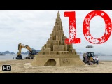Top 10 INCREDIBLE Sandcastles You have to see