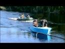 На МОТОРНЫХ лодках по Пяку-Пуру дружной компнией на рыбалку