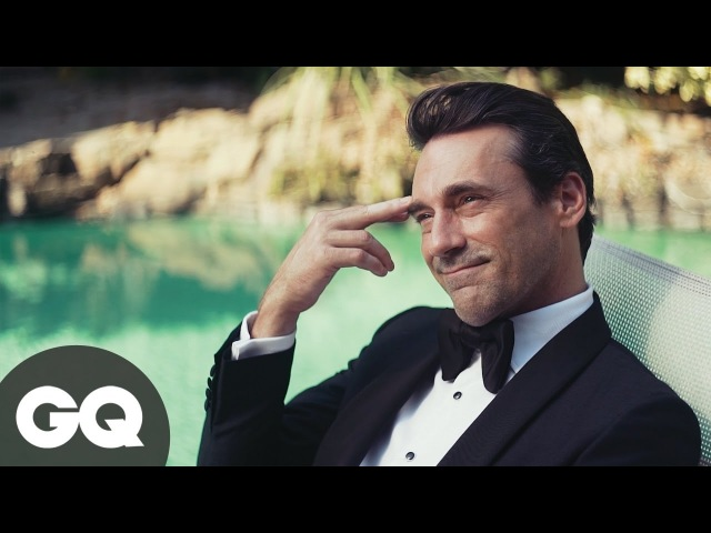 | Jon Hamm the Mad Men for GQ |
