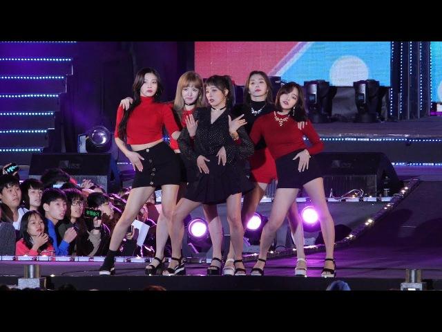 171014 레드벨벳 (Red Velvet) 빨간 맛 (Red Flavor) 4K 직캠 @안산 우정 슈퍼쇼 4K Fancam by -wA-