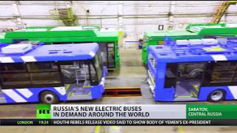 It's electric New Russian bus in demand around the world