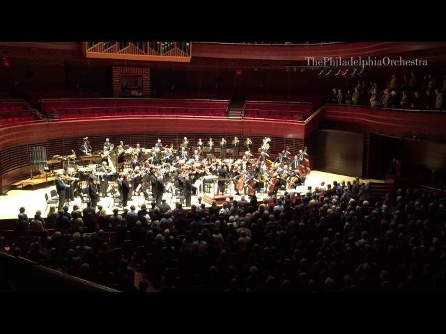 Philadelphia Orchestra Performs La Marseillaise