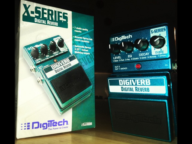 Ultimate Spring Reverb Shoot Out - Episode 6: Digitech Digiverb - Strat and LP Demo